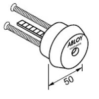 Цилиндр для накладных замков ABLOY® CY054N (хром)