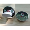 Поворотная кнопка LH001 WC Fe/CR (сталь хромированная)