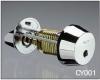 Цилиндр с поворотной кнопкой ABLOY  CY001T (хром)