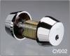 Двойной цилиндр ABLOY® CY002T (хром)