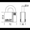 ABLOY PL350/50C